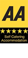 The AA, 5 Star Self Catering Accommodation Award